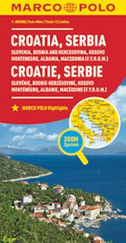 Croazia, Serbia, Slovenia, Bosnia-Erzegovina, Kossovo, Montenegro, Albania, Macedonia