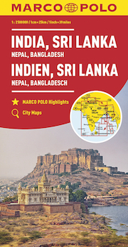 India, Sri Lanka, Nepal, Bangladesh