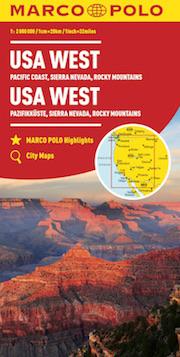 Stati Uniti occidentali, Costa del Pacifico, Sierra Nevada, Montagne Rocciose