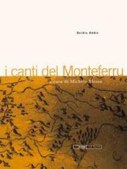 I canti del Monteferru