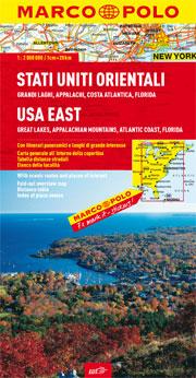 Stati Uniti orientali: Grandi Laghi, Appalachi, Costa atlantica, Florida