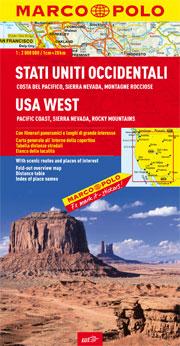 Stati Uniti occidentali: Costa del Pacifico, Sierra Nevada, Montagne Rocciose