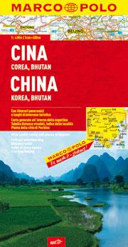 Cina, Corea, Bhutan